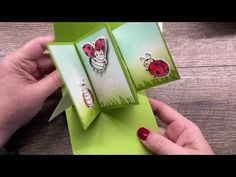 The Creativity Cave Fancy Fold Cards, Folded Cards, Card Tutorials, Video Tutorials, Birthday Cards For Women, Wink Of Stella, Interactive Cards, Animal Cards, Pop Up Cards