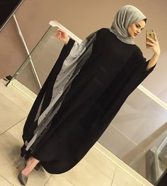 available here DM for order Burqa Fashion, Iranian Women Fashion, Islamic Fashion, Muslim Fashion, Fashion Outfits, Abaya Style, Abaya Designs Dubai, Burqa Designs, Estilo Abaya