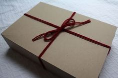 Recycled Gift Box