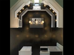 awesome kitchen/layout from above