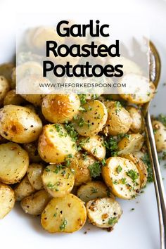 Easy Roasted Potatoes, Roasted Potato Recipes, Cheesy Mashed Potatoes, Roasted Garlic, Chicken Recipes, Juicy Baked Chicken, Baked Chicken Breast, Lemon Chicken, Chicken Breasts