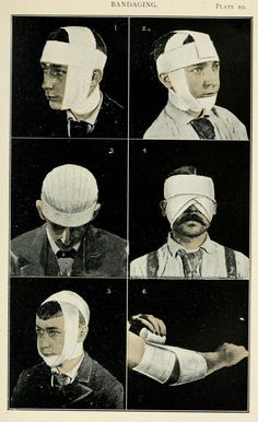 Manual sobre vendajes quirúrgicos de 1894