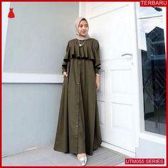 AIRA DRESS Bahan balotely All size fit to xl Mekar payung Cantik banget sista s. Mode Abaya, Mode Hijab, Islamic Fashion, Muslim Fashion, Kebaya Dress, Dress Brokat, Abaya Fashion, Fashion Outfits, Simple Long Dress