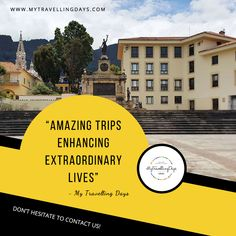 """Amazing Trips Enhancing Extraordinary Lives"" - My Travelling Days is the website which having cumulative tips to travel the world within your budget. Time Travel, Travel Tips, Real Life, My Life, Touring, Traveling By Yourself, Travelling, Trips, Budget"