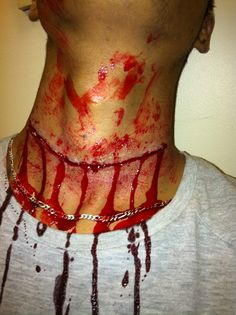 SFX- cut throat