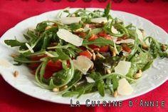 Recette Salade de roquette aux pignons - La cuisine familiale : Un plat, Une recette