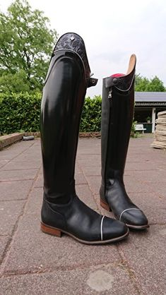 Ervaringen met DeNiro rijlaarzen en gaithers? • Bokt.nl Equestrian Boots, Tall Boots, Helmets, Carrera, Derby, Riding Boots, Competition, Horses, Outfits