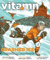 Crashed Ice, Brent Schoonover, MN