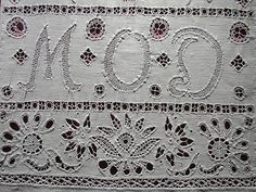 Hedebo embroidery from Greve Museum