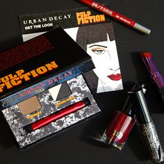 Relive the cinematic classic with the limited-edition Urban Decay Pulp Fiction Collection. #Sephora #Makeup #Beauty