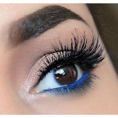 superhero makeup Eye blue | ... makeup nails brown eyes electric blue makeup blue eyes electric blue