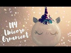 (1) How to Make Unicorn Ornaments | DIY Cricut Christmas Decorations | Polymer Horn - YouTube