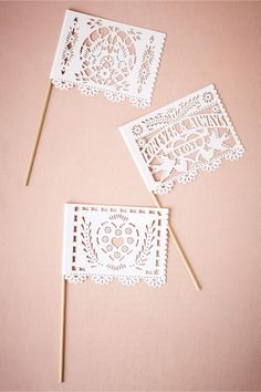 Papel Picado Flags from BHLDN