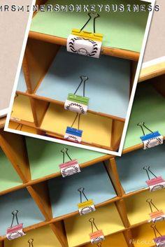 Mrs. Miner's Kindergarten Monkey Business: Picture Walk Through My Classroom 2014