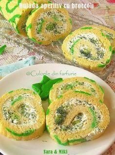 » Rulada aperitiv cu broccoliCulorile din Farfurie