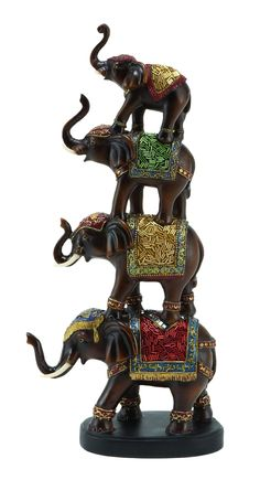 "Features:  Product Type: -Figurine.  Style: -Contemporary.  Theme: -Animal.  Subject: -Wild animals.  Finish: -Brown.  Age Group: -Adult. Dimensions:  Overall Height - Top to Bottom: -18"".  Overall Wi"