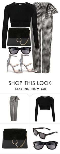 """""""Untitled #6482"""" by ashley-r0se-xo ❤ liked on Polyvore featuring Isa Arfen, Ivy Park, Italia Independent and Liliana"""