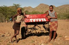 Toyota  - #Namibia #Africa #Transport The Donkey, Car Brands, Donkeys, My Bags, Bobs, South Africa, Pop Culture, Toyota, Transportation