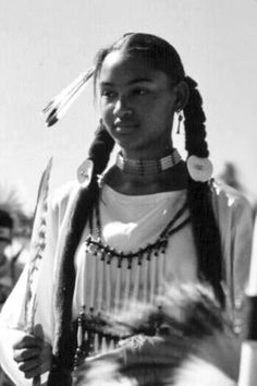 Cherokee Woman…..Black Pride!  True Fact…….Many freed and escaped slaves went west where there was true freedom and were adopted by tribes taking Native American wives and husbands.