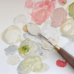 Ghibli Movies, Paint Set, Over The Rainbow, Mochi, Pink And Green, Artsy, Pure Products, Ethnic Recipes, Instagram
