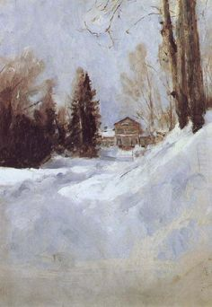 Winter in Abramtsevo ~ Valentin Serov