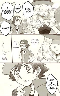 Ash and Serena comics pt.4