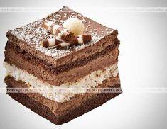 Masa cappuccino z serkiem mascarpone Sweet Recipes, Cake Recipes, Polish Recipes, Polish Food, Food Cakes, Tiramisu, Cheesecake, Cooking Recipes, Homemade