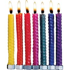 Rite-Lite Judaica Festive Hand Rolled Honeycomb Beeswax Chanukah Candles, Box of 45 ** Want additional info? Click on the image.