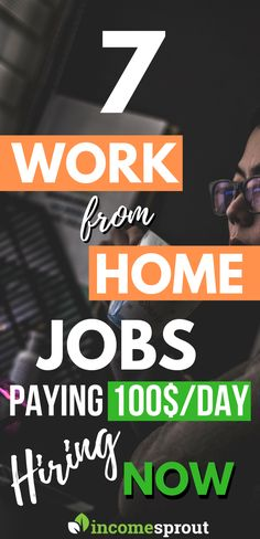 these work from home jobs are best for whoever who wants to start to make money doing a part-time job and the best part is they are hiring now so hurry up and join now. - Earn Money at home Earn More Money, Ways To Earn Money, Earn Money From Home, Money Tips, Way To Make Money, Make Money Online, Money Hacks, Money Fast, Work From Home Opportunities