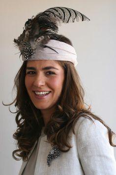 #Cherubina#hat - banda plumas