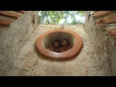 Building The Most Tunnel Water Slide To Swimming Pool Underground House. This Style Primitive Technology, How To Build, Underground Swimming Pool, Build Swim. Underground Swimming Pool, Swimming Pools, Primitive Technology, Underground Homes, Water Slides, Survival, Building, Youtube, House