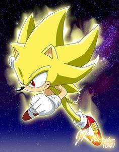 Super Sonic. (Sonic X)