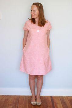 Afternoon Blouse and Shift Dress Women's PDF by Jenniferlauren