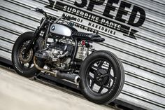 A low-slung boxer BMW custom from K-Speed of Thailand.