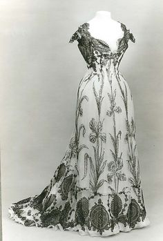 Dress Date: 1899 Culture: French Medium: silk Dimensions: [no dimensions available] Credit Line: Gift of Susan Dwight Bliss, 1935 Accession Number: 35.134.8
