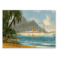 Tropical Travels Business Cards