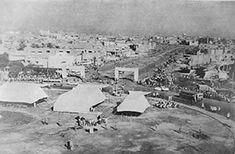 ساحة التحرير وهي قيد الانشاء في الخمسينيات من القرن الماضي