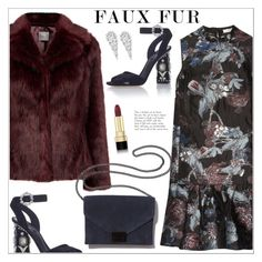 """""""Faux Fur Coats"""" by christinacastro830 ❤ liked on Polyvore featuring Erdem, Dolce&Gabbana, Loeffler Randall, Wrapped In Love and fauxfurcoats"""