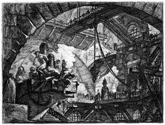 17th century Italian artist Giovanni Battista Piranesi is best known for a highly unusual series of prints calledImaginaryPrisons, utilizi...