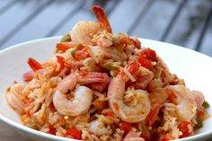 Jambalaya - I made this on 11 March 2012 with Portuguese sausage instead of diced ham. Quite delicious!