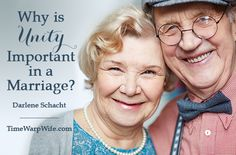 Why is unity important in a marriage?