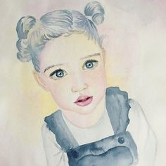 "ARTSOME - Zita Kurucz's Instagram profile post: ""I created this portrait about my friend's incredibly beautiful and sweet little daughter, Laura, 🥰 and this is so far from her real life…"" My Friend, Friends, Real Life, Daughter, Profile, Restaurant, Art Prints, Wall Art, Portrait"