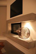 Trisore 140 - Beautiful three-sided contemporary gas fireplace ...