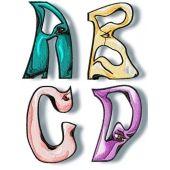 Weird Alphabet