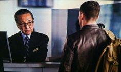 Godzilla 2014 Akira Takarada Airport Movie Still