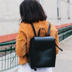 """Loeffler Randall Vachetta Leather Mini Backpack •Drawstring backpack in black vachetta with a magnetic flap closure. L 10"""" x D 5.5"""" x H 11"""".  •Like new condition, a few light marks on exterior. Cover shot from Loeffler Randall's Instagram.  •NO TRADES/PAYPAL/MERC/VINTED/NONSENSE.  •PLEASE USE OFFER FEATURE IF YOU WANT TO NEGOTIATE PRICE. Loeffler Randall Bags Backpacks"""