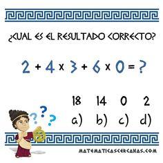 ¿Cuál es el resultado correcto? #matematicas #matematica #mates #math #maths #mathproblems #problemas #quiz