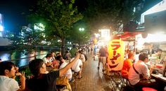 """Ramen on the street in """"Next Stop: Uncovering the Secrets of #Fukuoka"""" 