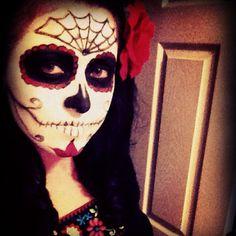 Dia de los Muertos by mstubbs. #Sephora #Sephoraween #Halloween