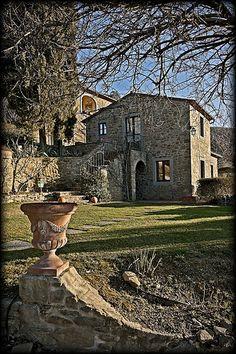 Tuscan villa at il Falconiere near Cortona, Tuscany